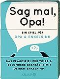 Sag mal, Opa!: Ein Spiel für Opa und Enkelkind - Elma van Vliet