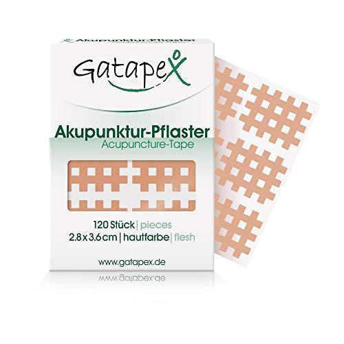 Gatapex Gitter Akupunktur-Pflaster (Größe M) hautfarbe