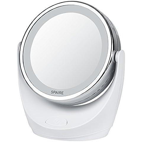 Spaire Specchio per Trucco 10X / 1X