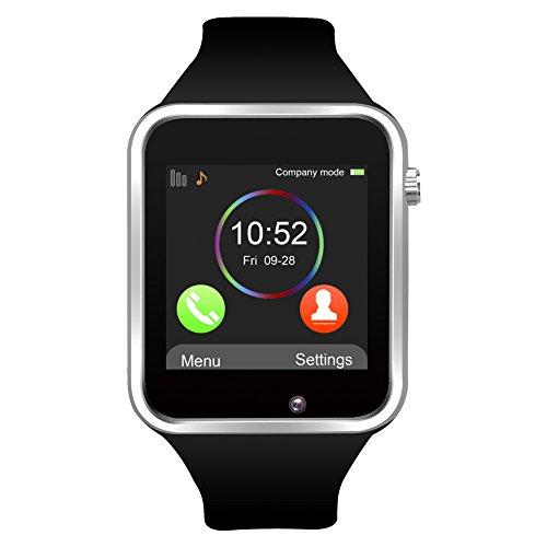 jukkarri a1 bluetooth smart watch orologio da polso con sim card slot gsm sport watch activity tracker orologio da polso per android/ios smartphone ...