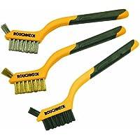Roughneck 52005 - Mini spazzole in filo di ferro, set da 3 pezzi - Del Ferro