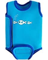 SwimBest Baby Wetsuit / Baby warmer wrap / Girls & Boys - 0-6 , 6-12 & 12-24 months