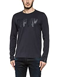 Replay M3038 .000.2660, T-Shirt Manches Longues Homme