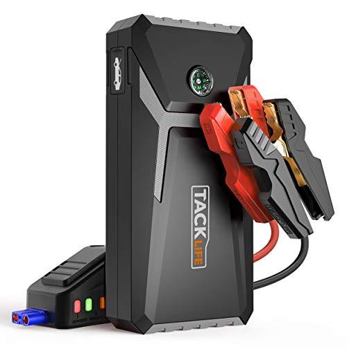TACKLIFE T8 MIX Arrancador de Coche - 500A 12000mAh arrancador de baterias...