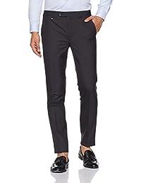 Park Avenue Men's Slim Fit Formal Trousers - B078Y5S35Z