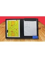 Tácticas de baloncesto Panel gráfico junta magnética plegable tabla de entrenamiento el entrenador