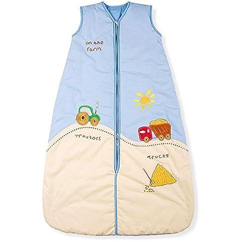 Mr. Sandman tractores y camiones/saco de dormir para bebé, invierno, 3,5tog, tamaño 4: