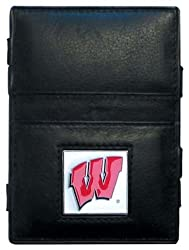 NCAA Wisconsin Badgers Leather Jacob's Ladder Wallet