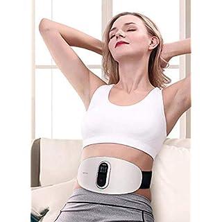 Smart Taille Massager - Taille Massager - Physiotherapie Lendenschmerzen Lendenwirbelsäule Bandscheibenvorfall - Traktion Lendenwirbelsäule Strain Removal - Waist Straightener - Gürtel Adder - Wiederaufladbare Mit Fernbedienung,Wie zeigen,Einheitsgröße Massager