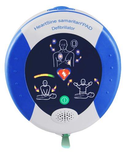Heartsine PAD 500P Defibrillator für Erwachsenen und Kinder mit Herzdruckmassage-Assistent (CPR-Advisor)