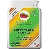 Complément Nutrition Framboise Ketone Phyre Plus 500mg x 30 Gélules - Brûle Graisse Naturel Perte Poids