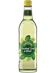 Robinsons Fruit Cordials Crushed Lime and Mint, 500 ml