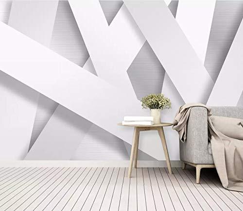 Carta Da Parati Adesiva Muro 3D Minimalismo Astratto Spazio Geometrico Fotomurali 3D Photo Wallpaper Moderna Murale