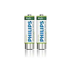 Philips LFH0153/00B - 2 piles rechargeables AA - 1600Mah