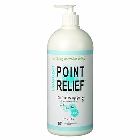 Point Relief 11-0711-1 ColdSpot Gel Pump, 32 oz Bottle by