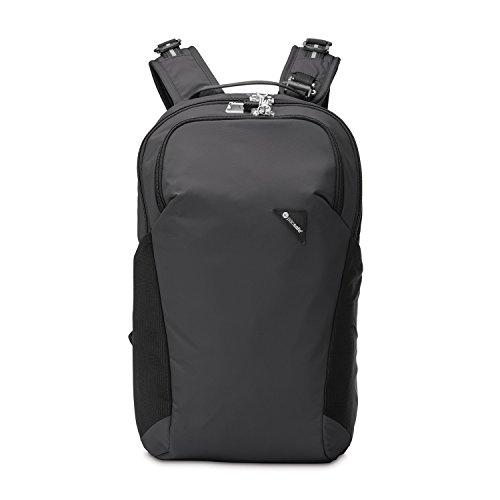 Pacsafe Vibe 20 - Anti-Diebstahl Rucksack, Backpack, Diebstahlschutz Daypack, Sicherheitstechnologie 20 Liter, Schwarz/Black