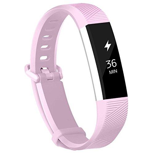 Armband für Fitbit Alta und Fitbit Alta HR, TPU Silikon Verstellbare Ersatz-Sportbänder für Fitbit Alta und Alta HR Smartwatch Fitness-Armband