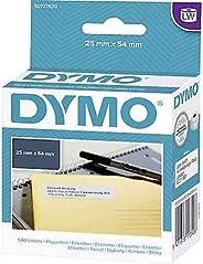 DYMO Label roll 11352 S0722520 54 x 25 mm Paper White 500 pc(s) Black on White
