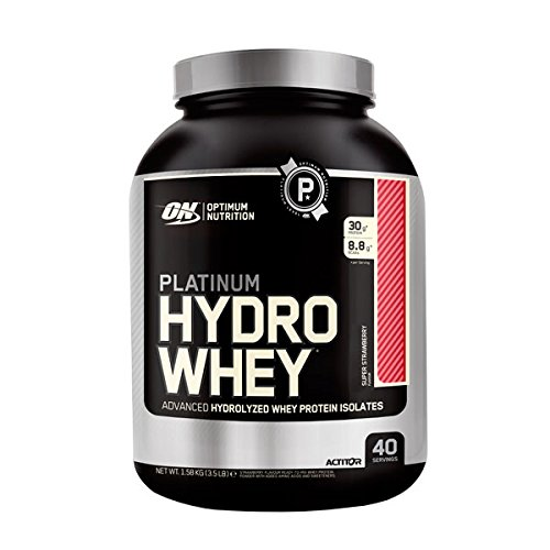 Optimum nutrition Platinum Hydrowhey 1,6 kg Superstrawberry