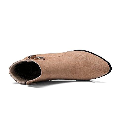 BalaMasa Abl10094, Sandales Compensées femme abricot