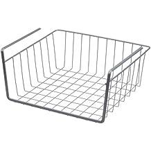 Metaltex 364830 - Estante intermedio, 30 centímetros, color gris metalizado