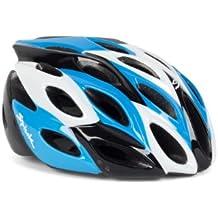 Spiuk Zirion - Casco de ciclismo, color azul / negro / blanco, talla 53 - 61