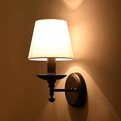 VanMe Nordic Style Indoor Wall Lamps Villa Led Wall Lights Vintage Wall Lamps,Whit