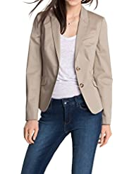 ESPRIT Collection Damen Blazer Slim Fit 995EO1G900