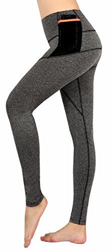 Munvot®?Herbst/Winter-Kollektion?Damen Sport Leggings Hohe Taille Fitnesshose Blickdichte Leggings Glanz Training Tights Strumpfhosen Strech Yoga Sporthose leggins für damen mit Tasche?Top Qualität