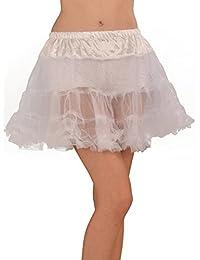 Petticoat Size M ca. 40cm Long Carnival New Black or White