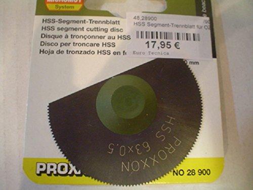 PROXXON 28900 - DISCO DE CORTE HSS PARA OZI/E Ø65MM 160 DIENTES