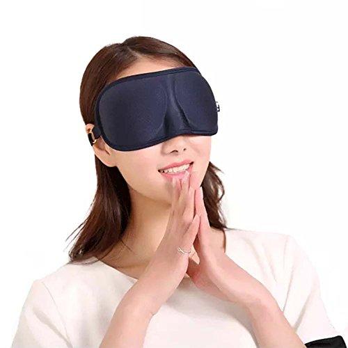 Treat Me 7D Occhio Maschera in materiale di Poliestere regolabile Viola