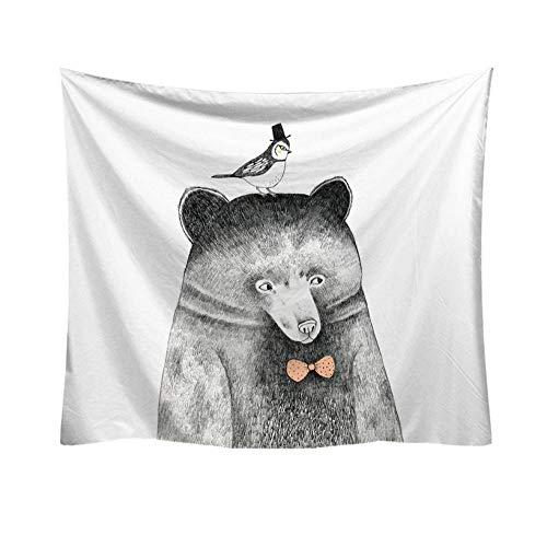 Zhlxc arazzo da parete koala panda arazzo appeso a parete arazzo coperta in poliestere arazzi per soggiorno camera da letto agriturismo decor tovaglia