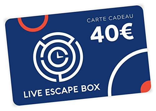 LIVE ESCAPE BOX LE 1ER COFFRET CADEAU ESCAPE GAME Billetterie