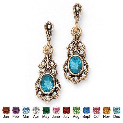 palm-beach-jewelry-taglio-pietra-anticata-sim-december-sim-orecchini-con-topazio-blu