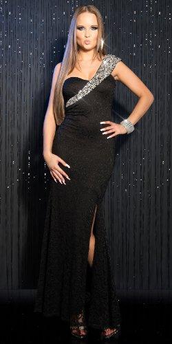 In-Stylefashion - Robe - Femme noir noir XL Noir