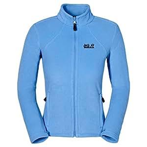 Jack Wolfskin Women's Moonrise Jacket, Air Blue, X-Small