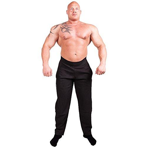 Gym-Hose, Bodypant, Bodybuilding Hose, Fitnesshose S10 - Farbe: schwarz Gr.M