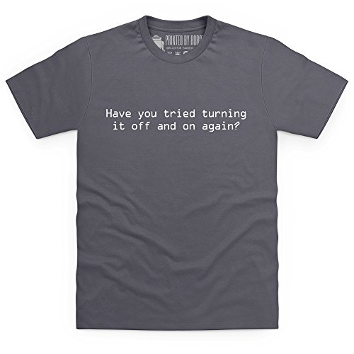 Off and On - T-Shirt, Herren Anthrazit