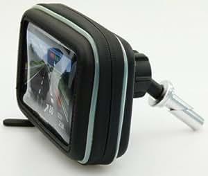 Support Fixation Moto Avec Housse GPS Etanche Compatible TomTom One / Go