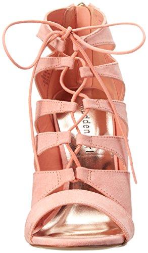 Madden Girl Raceyyy Tessile Sandalo Coral Fabric