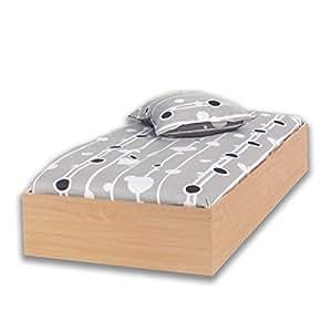 Arredo casa 76041 41 cadre de lit simple en bois for Arredo casa amazon