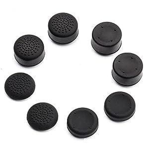 8Portable Schützen Kappen erhöhte Design Weiche Silikon Anti-Rutsch Case Haut Guard für Sony Playstation 4PS4Daumen Stick
