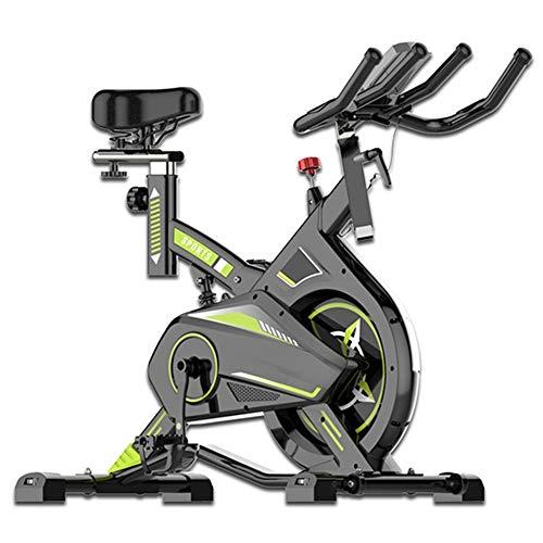 AMBM Bicicleta Estática de Spinning Profesional, Ajustable Resistencia, Pantalla LCD, Bicicleta Fitness...