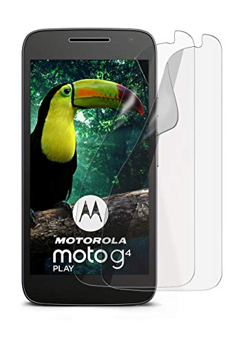 2X Lenovo Moto G4 Play | Schutzfolie Matt Bildschirm Schutz [Anti-Reflex] Screen Protector Fingerprint Handy-Folie Matte Bildschirmschutz-Folie für Motorola Moto G4 Play Bildschirmfolie