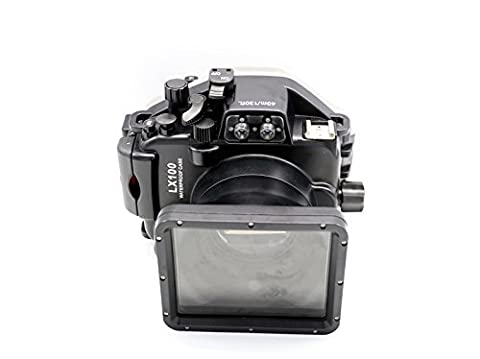 hofoo Tauchen Unterwasser 40m/130ft Wasserdicht nach IP8x Grade Kamera Gehäuse für Panasonic LX100