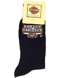 Harley-Davidson Officiel Lodo Chaussettes homme taille 44-46 Noir