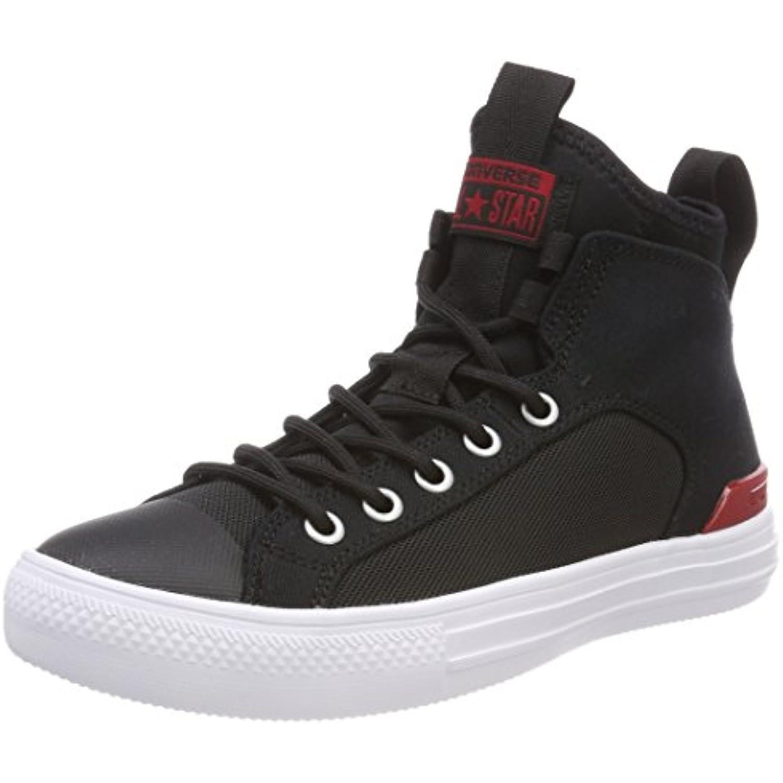 Converse CTAS Ultra Mid Black/Gym Red/White, Baskets Hautes Mixte B0788TRD5X Adulte - B0788TRD5X Mixte - 9dd1d9