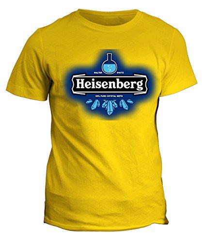 Tshirt breaking bad - heisenberg walter white beer birra meth - serie tv telefilm - in cotone by fashwork
