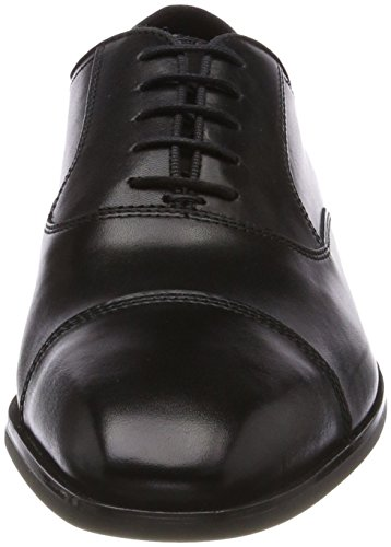Geox Herren U New Life E Oxfords Schwarz (Black)